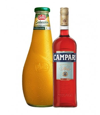 Pack Campari Orange (Jugo...