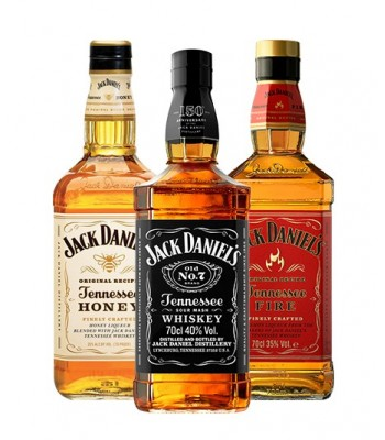 Pack Daniels (Honey + Jack...