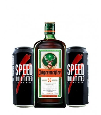 Jägermeister + 2 Speed 500ml