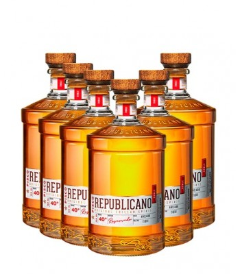 6x Pisco Republicano Añejo 40°