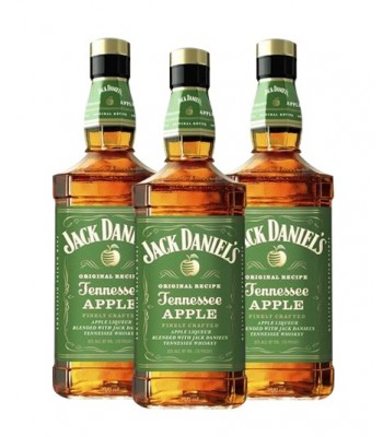 Pack Daniels Apple Litro x3