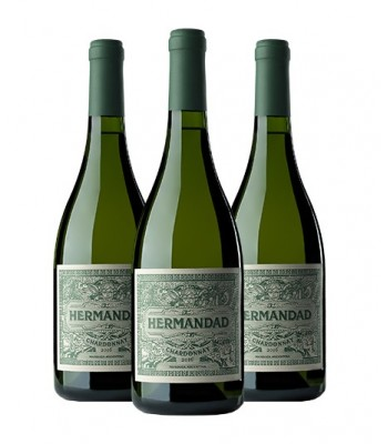 Hermandad - Chardonnay 2016 Premium Wine - Pack x3 Botellas