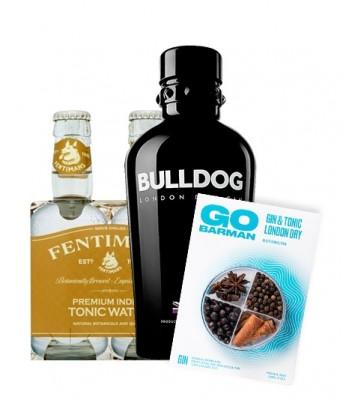 Gin Bulldog 750cc + Fentimans Tonica + Botanicos