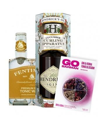 Gin Hendricks (Incluye cortapepino) + Fentimans Tonica + Botanicos