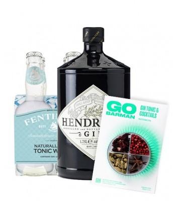 Gin Hendricks + Fentimans...