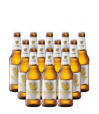 Cerveza Singha 330cc x12