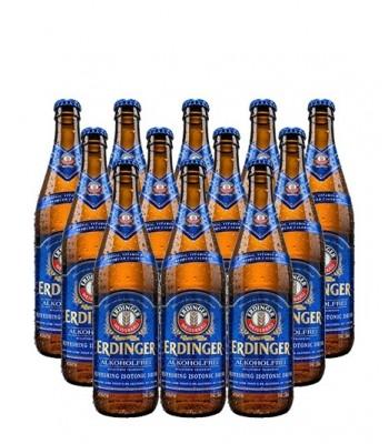 Cerveza Erdinger sin alcohol  500cc x12 - Con Vaso Erdinger de Regalo!!