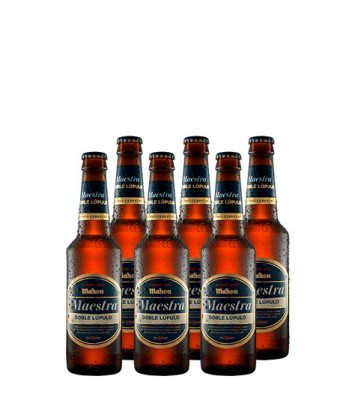 Cerveza Mahou Maestra six pack 330cc x6 botellas