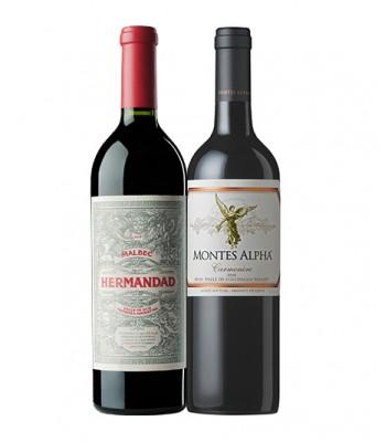 Pack 2x Premium Hermandad + Montes Premium Wines