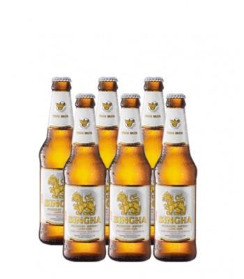 Cerveza Singha 330cc - 6x Pack