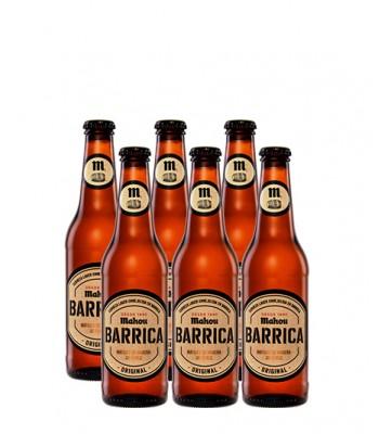 Cerveza Mahou Barrica Original 330cc - 6x Pack