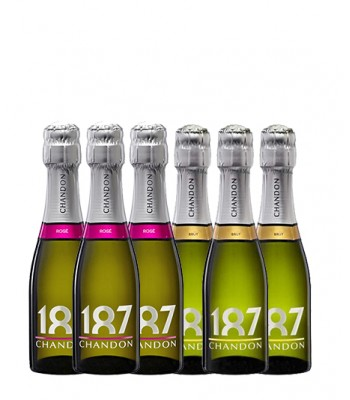 Pack de Espumantes 187cc - 6x Botellas