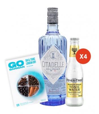 Gin Citadelle 750cc + 4pack...