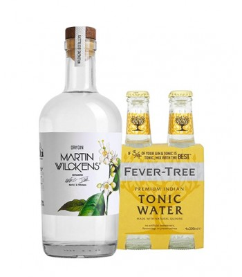 Gin Martin Wilckens + 4Pack de Fever Tree Indian Tonic