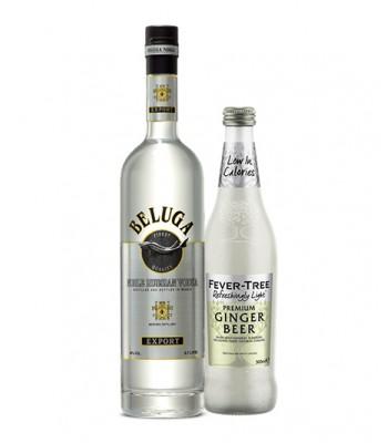 Moscow Mule Premium (Vodka Beluga + Fever Tree Ginger Beer Light 500cc)