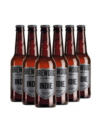 Cerveza Brewdog Indie Pale Ale 330cc - 6x Pack