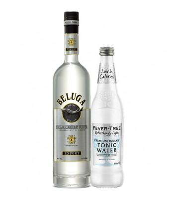Vodka Tonic Premium (Vodka Beluga + Fever Tree Light Tonic 500cc)