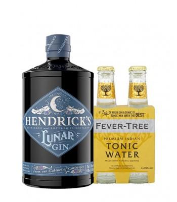 Gin Hendricks Lunar 700cc + 4Pack Fever Tree Indian Tonic