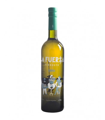 Vermouth La Fuerza Blanco (Base Torrontes)