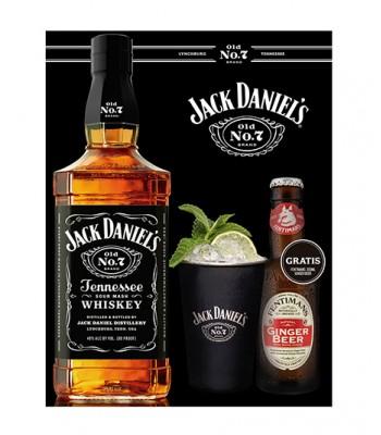 Pack Daniels - Tennessee Mule (N7 + Ginger Beer + Vaso Metalico)