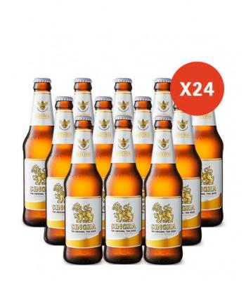 Cerveza Singha 330cc x24