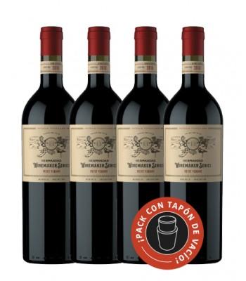 Hermandad - Petit Verdot 2018 (Caja x4) - Winemarker Series - Ed. Limitada