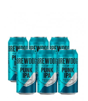 Cerveza Brewdog Punk IPA - PAck x 6 Latas 500cc