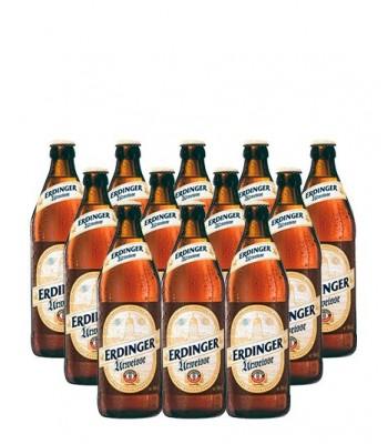 Cerveza Erdinger Urweisse 500cc x12 + Vaso Erdinger de Regalo !!