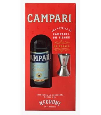 Campari 750ml + Jigger...