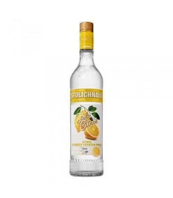 Vodka Stolichnaya Lemon 750cc