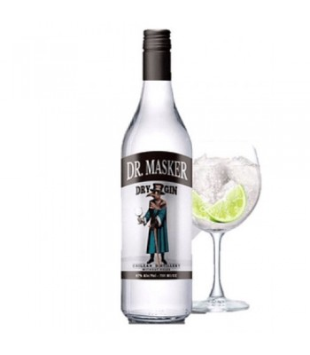 Dr. Masker Dry Gin + Copa...